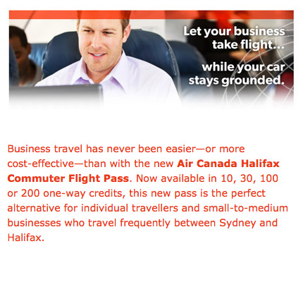 Air Canada Commuter Ad