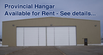 Provincial Hangar for Rent