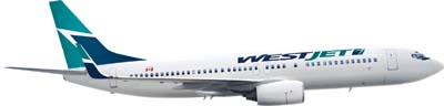 WestJet Airplane
