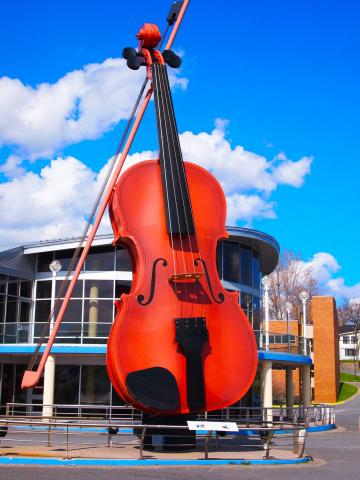 The Big Fiddle, Sydney, Cape Breton Island on Canada's East Coast! Fly YQY Sydney!